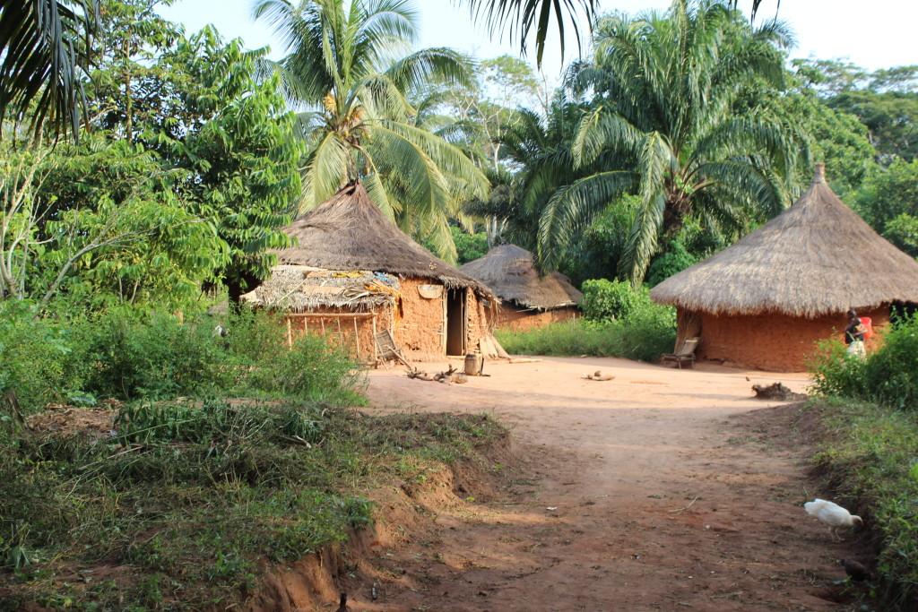 A house in Bokumu Mokola.